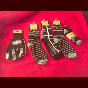 Lots of new socks and gloves